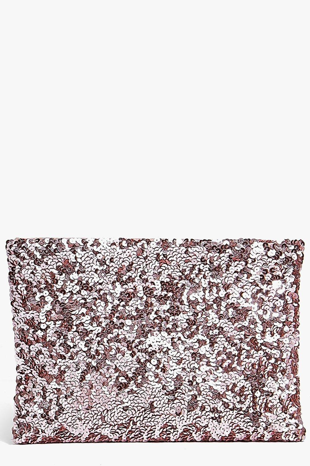 Holly All Over Sequin Clutch Bag