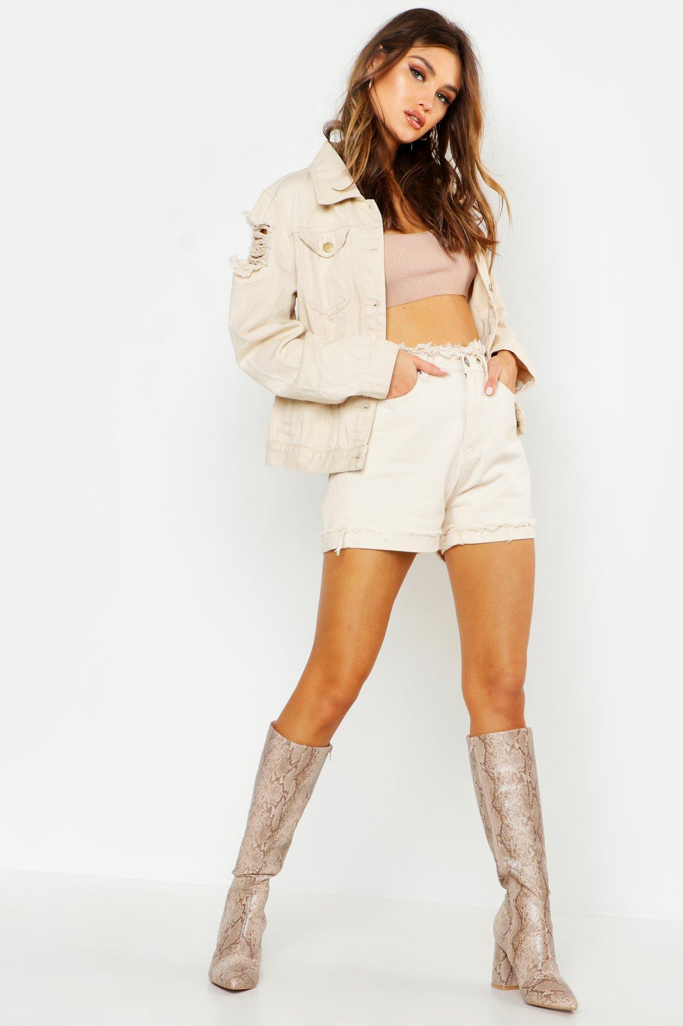 Alice Western Denim Jacket at boohoo.com