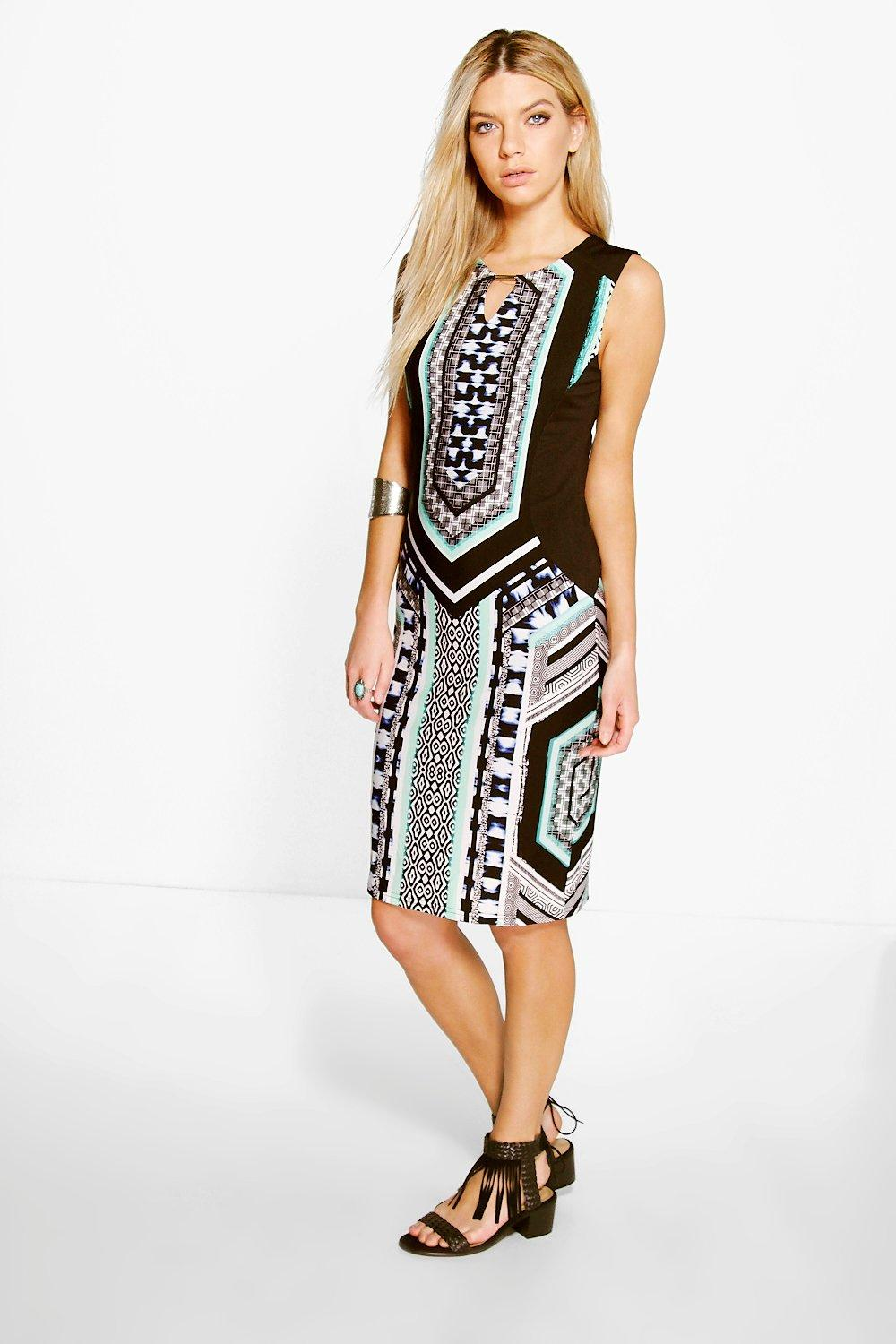 Andrade Sleeveless Shift Dress