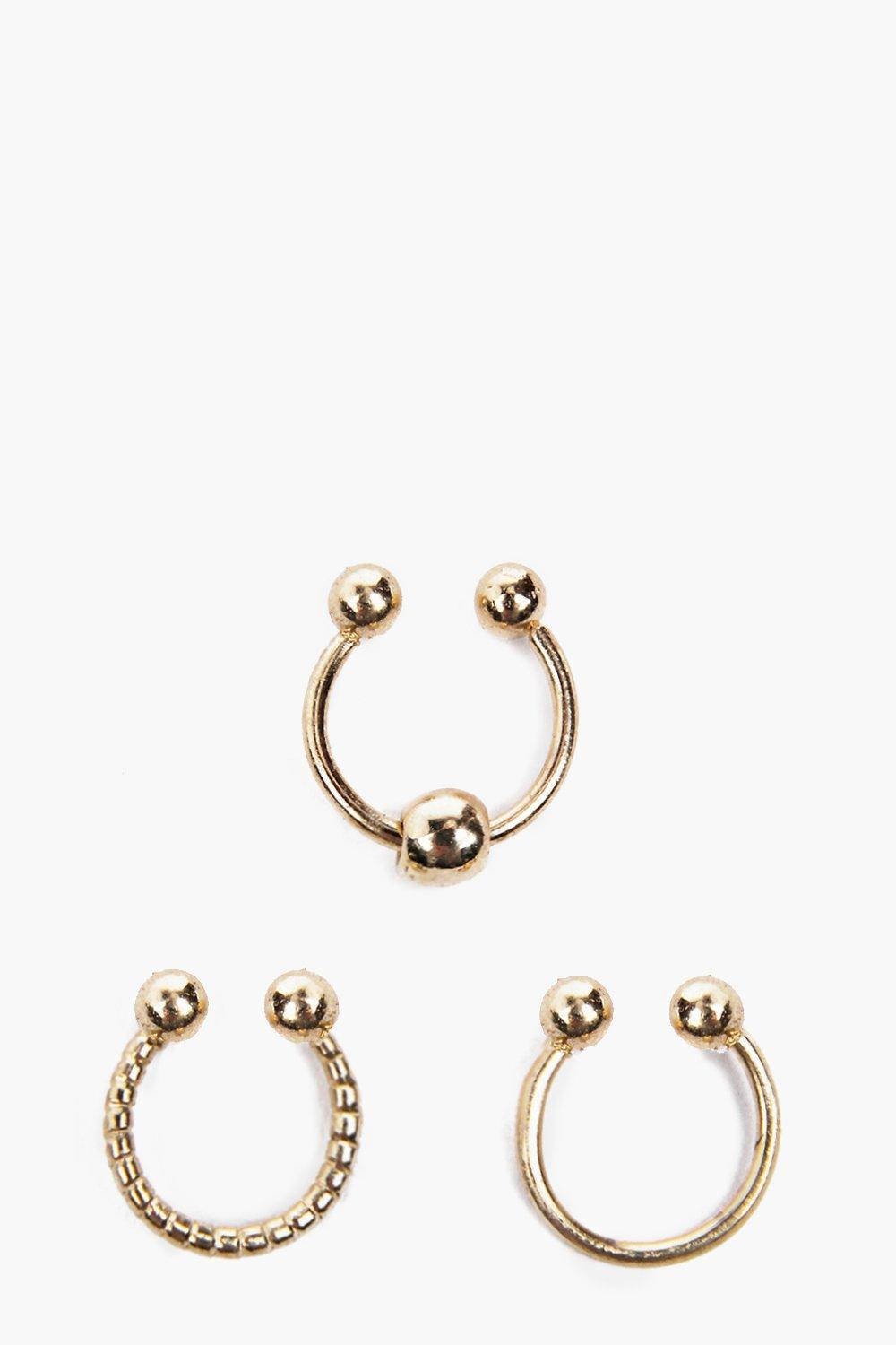 Paige Simple Septum Ring Set