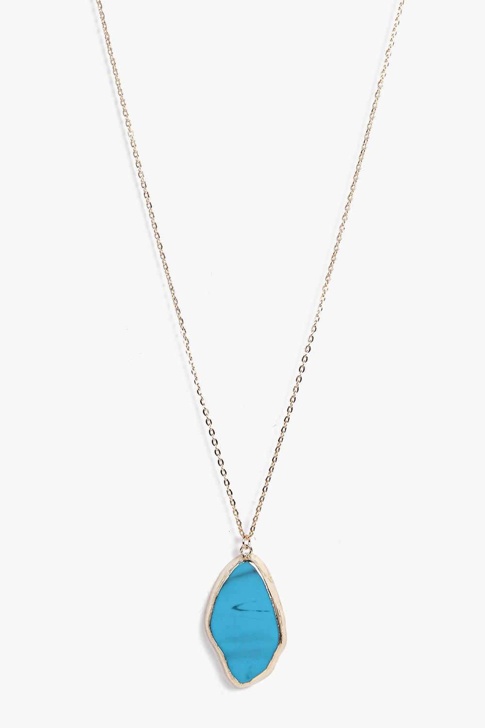 Abbie Crystal Skinny Necklace