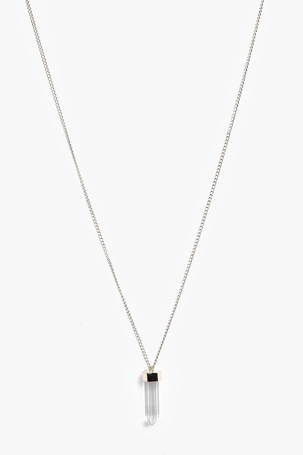 Orla Crystal Detail Skinny Necklace