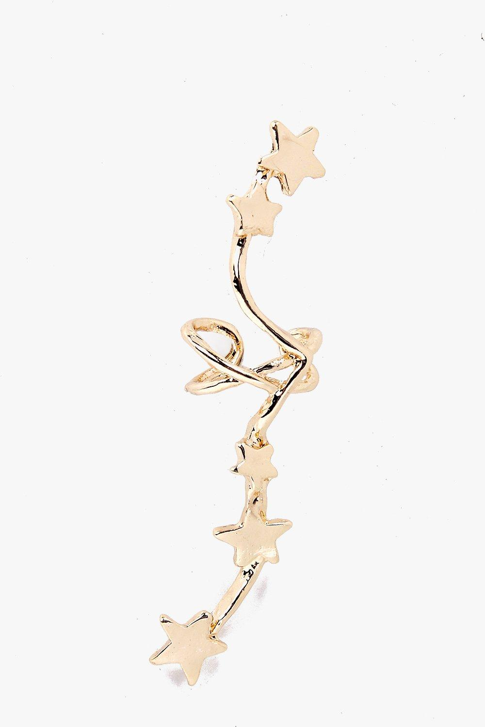 Martha Superstar Twisted Ear Cuff