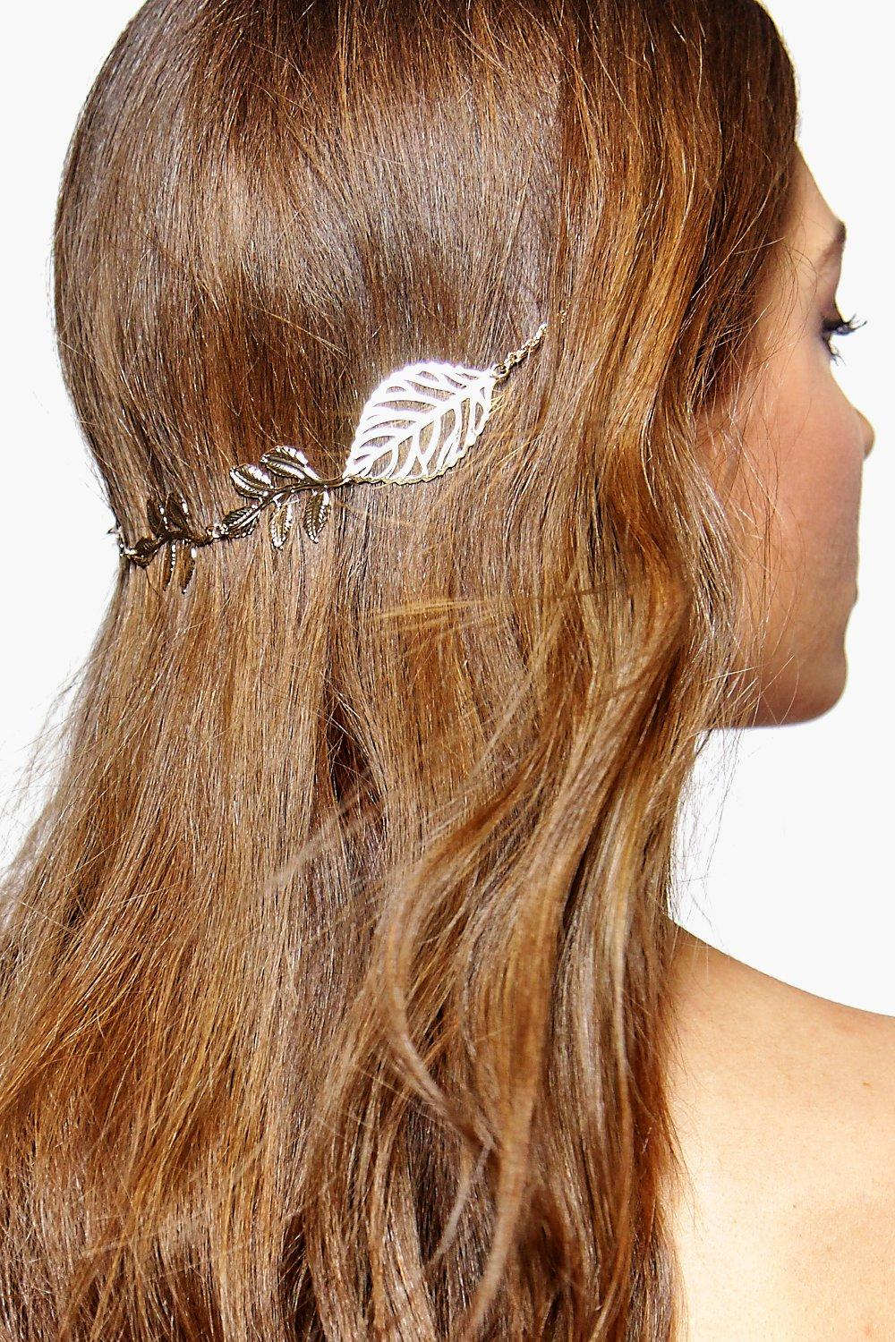 Victoria Leaf Double Hair Pin