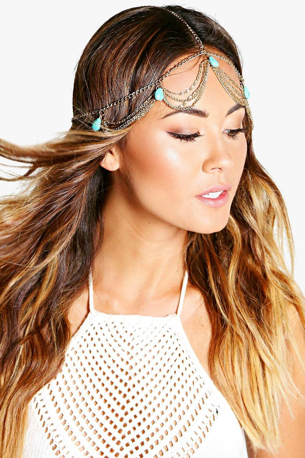 Darcy Beaded Head Chain