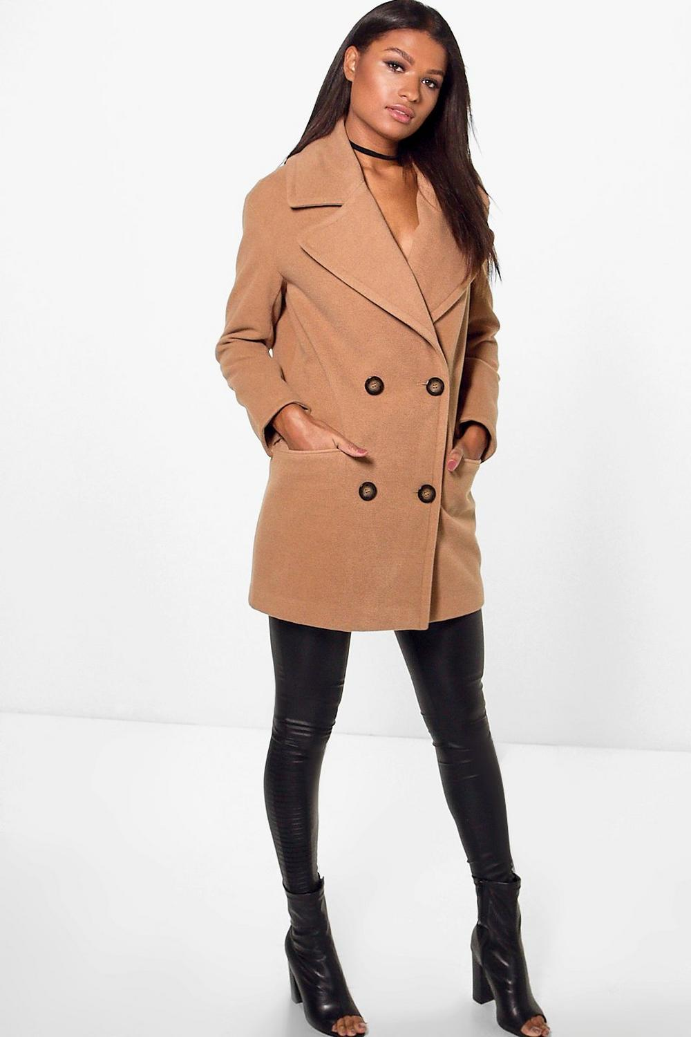 Harriet Oversized Collar Double Breasted Coat
