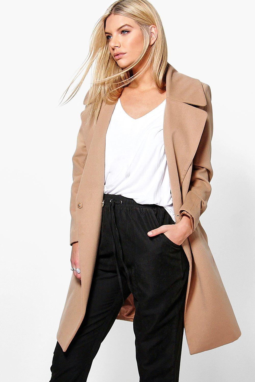 Eloise Oversized Collar Coat