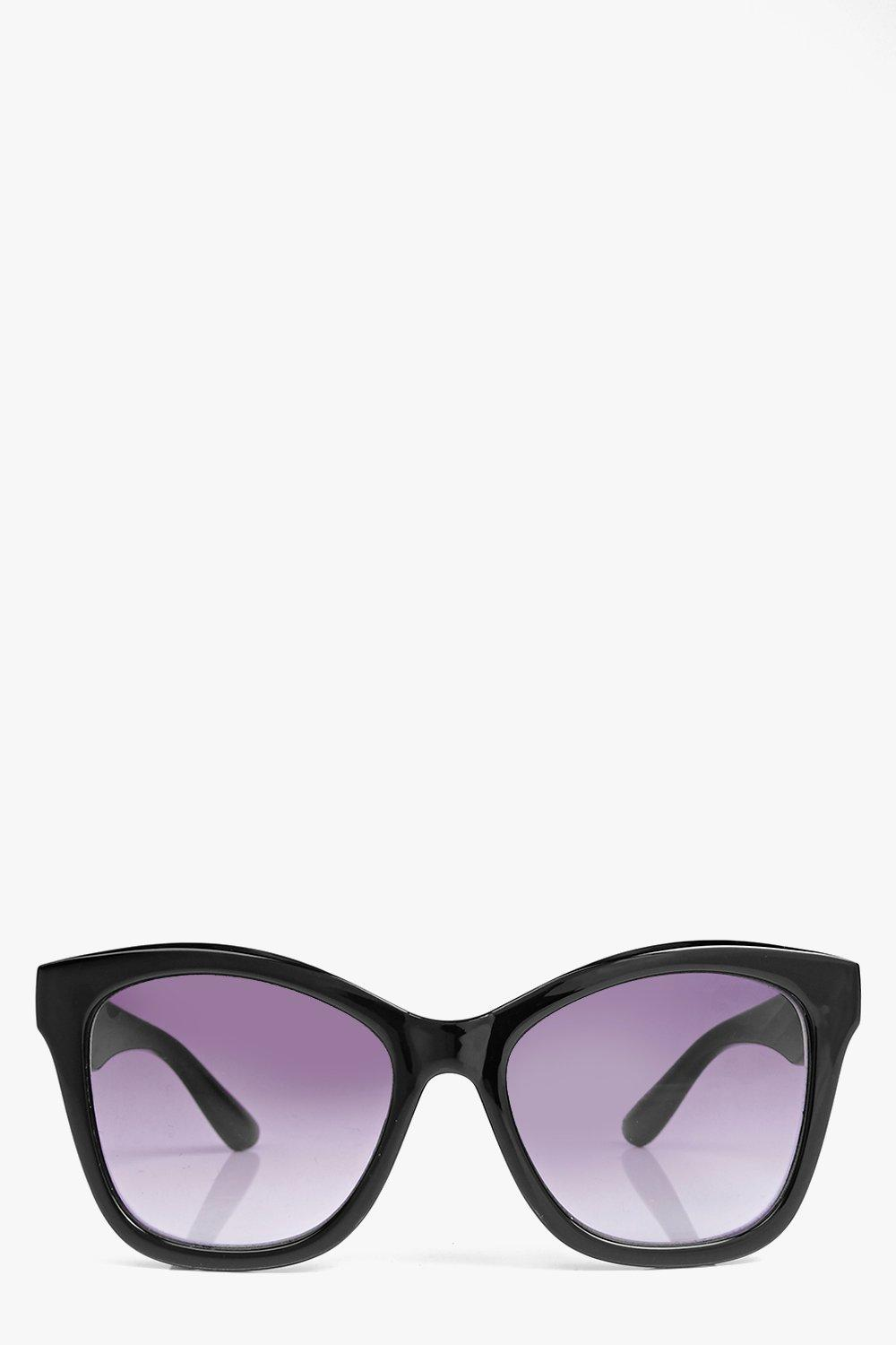 Bella Rectangle Oversized Frame Sunglasses