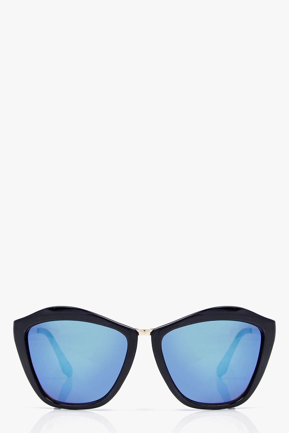 Ava Oversized Cat Eye Frame Sunglasses
