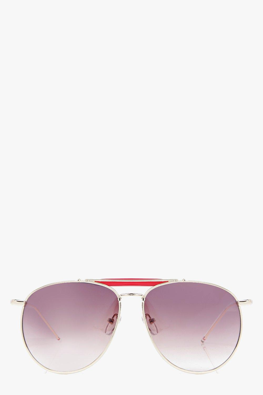 Julia Metal Bar Classic Aviators
