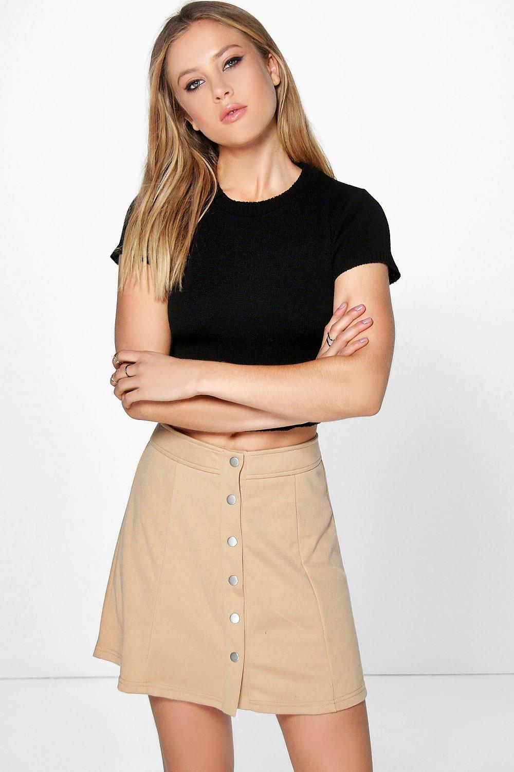 Mia Short Sleeve Crop Jumper
