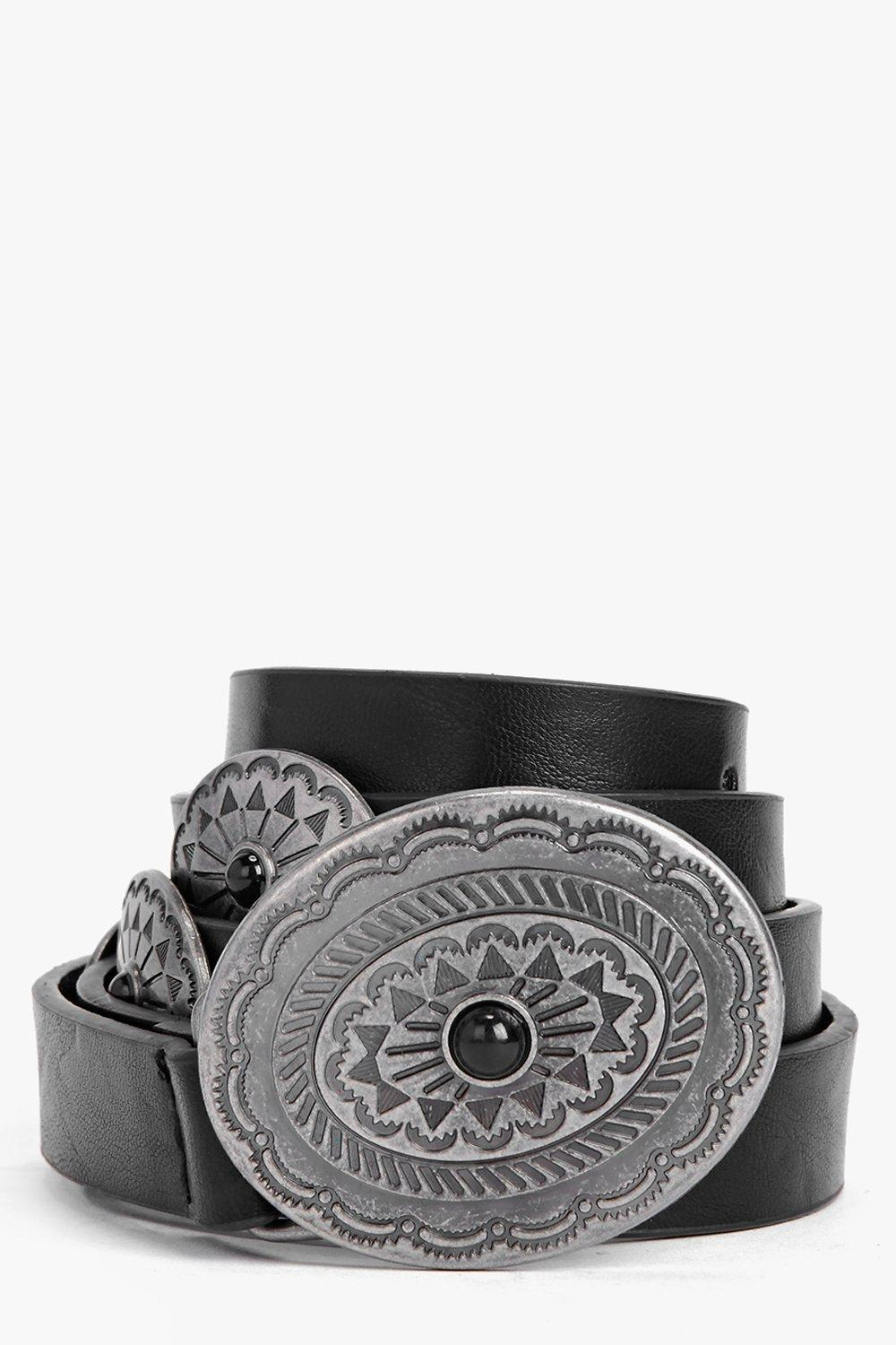 Gracie Western Stone Detail Belt