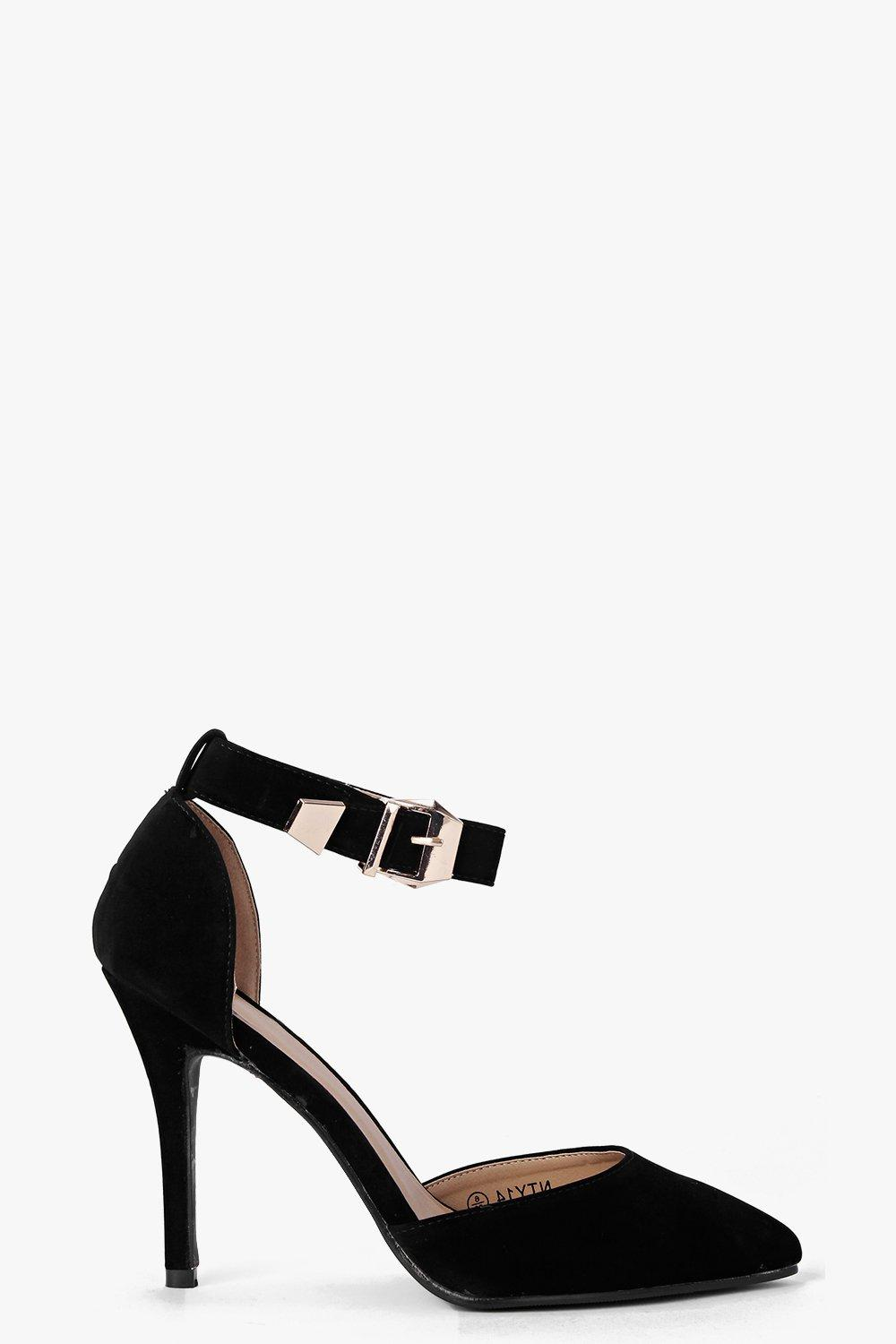 Mia Ankle Band Pointed Toe Heel