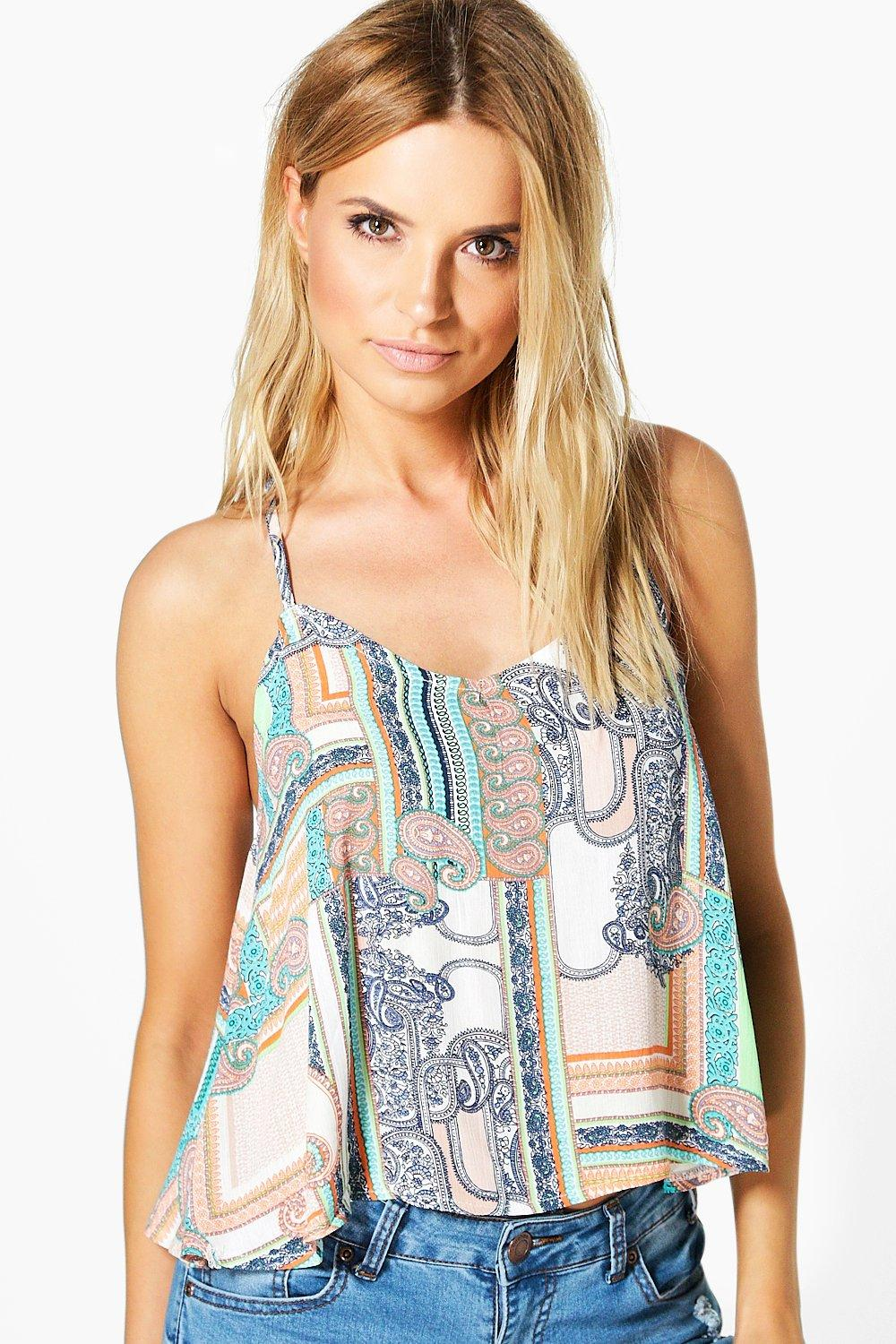 Ruby Woven Print Cami