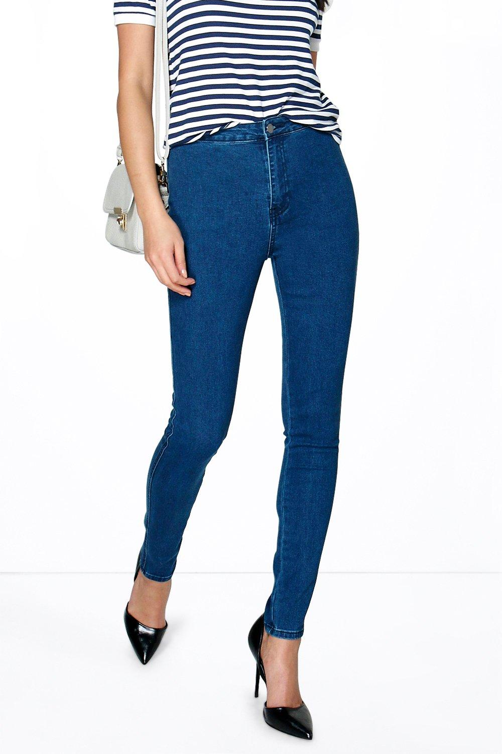 Avan High Rise Tube Jeans