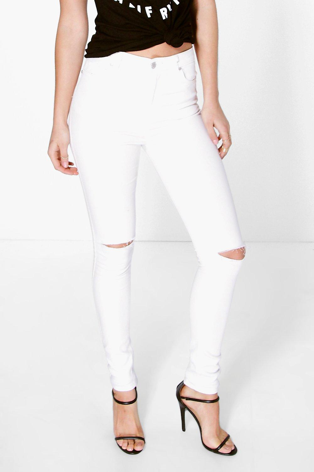 Louise 5 Pocket High Waisted Skinny Jeans