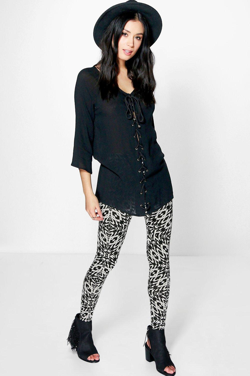 Mila Animal Print Leggings