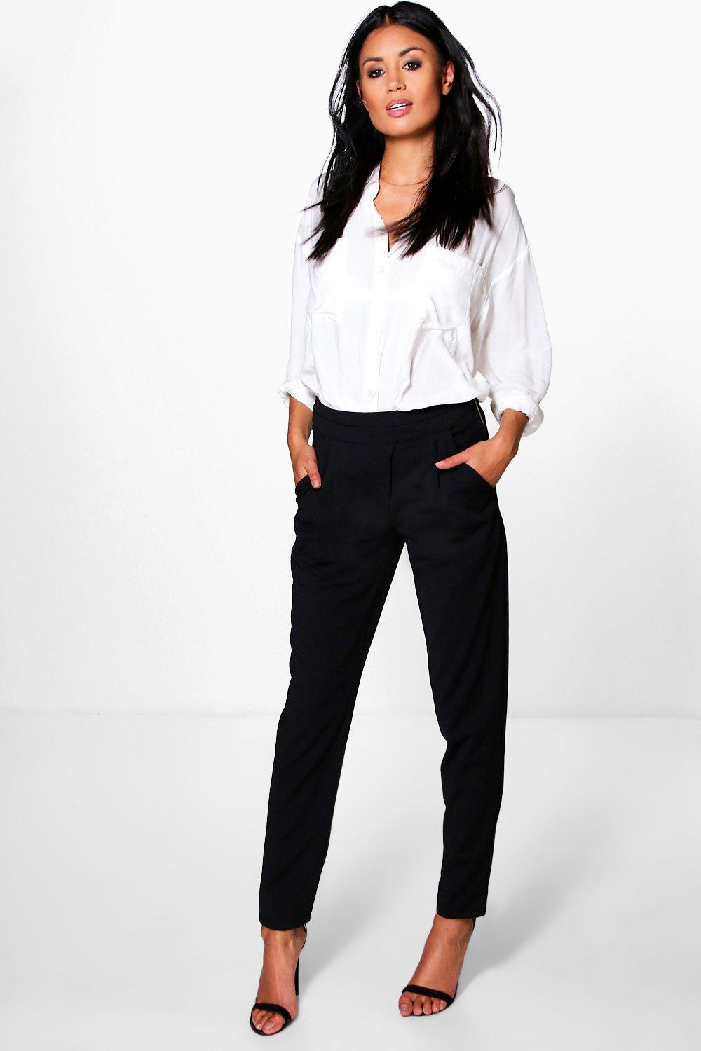 Emily Wrap Front Skinny Trouser