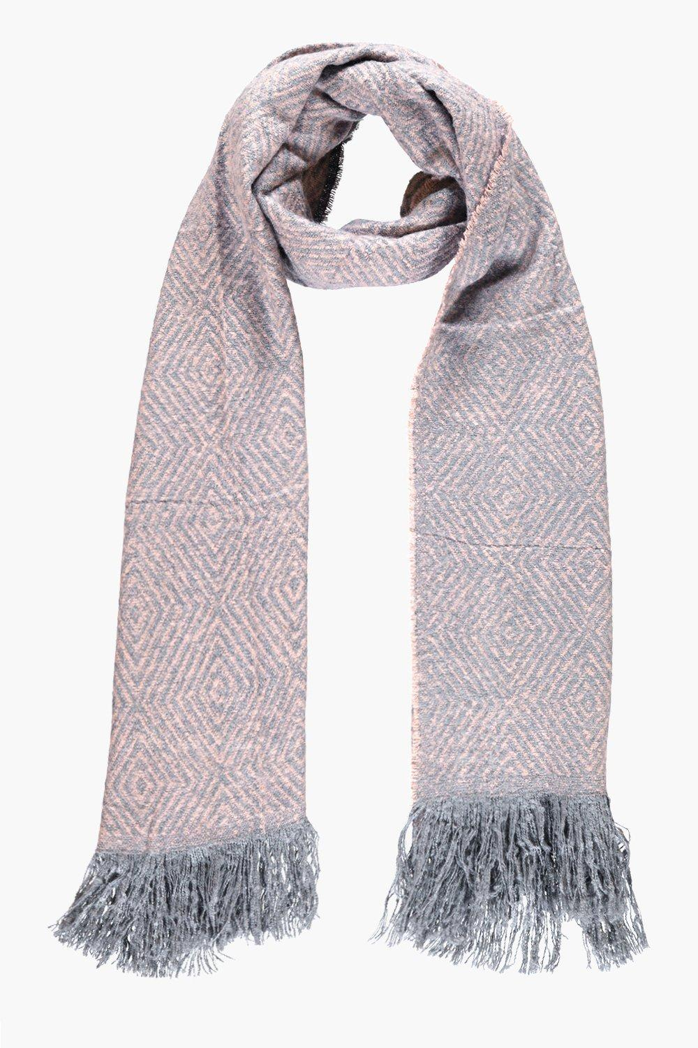 Scarlett Fringed Soft Knit Scarf