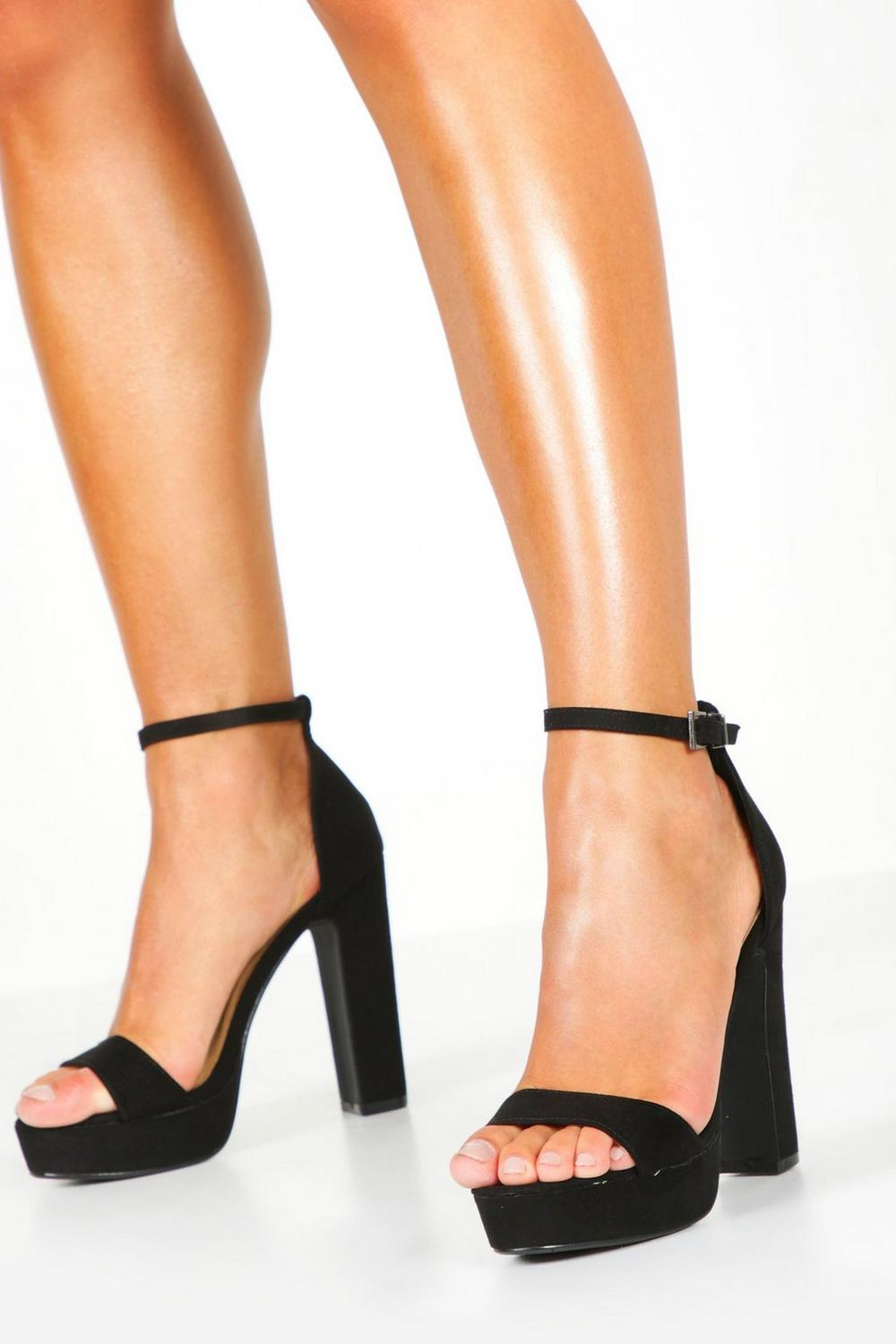 Lola Two Part Platform Heel