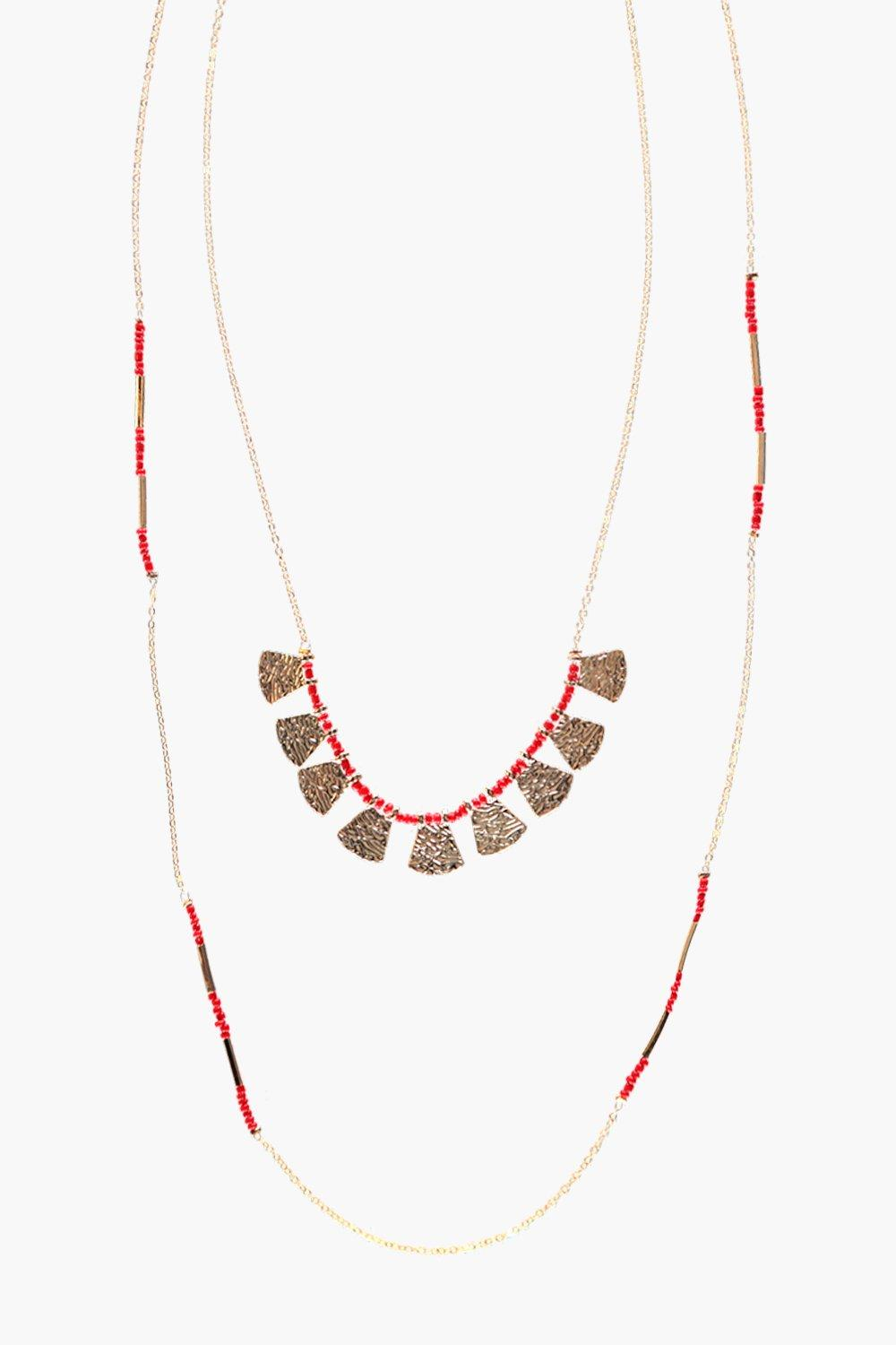 Eden Layered Beaded Necklace