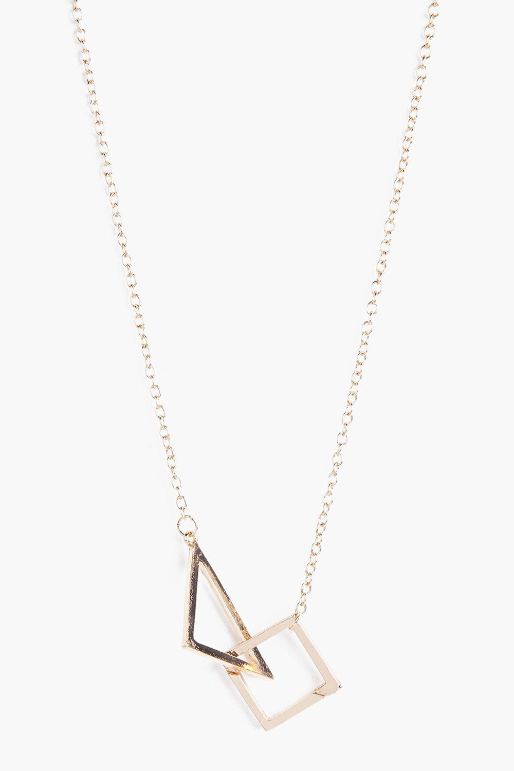Emily Geometric Shape Necklace