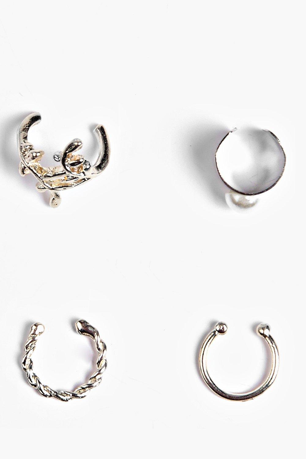 Laura Mixed Ear Cuff Set