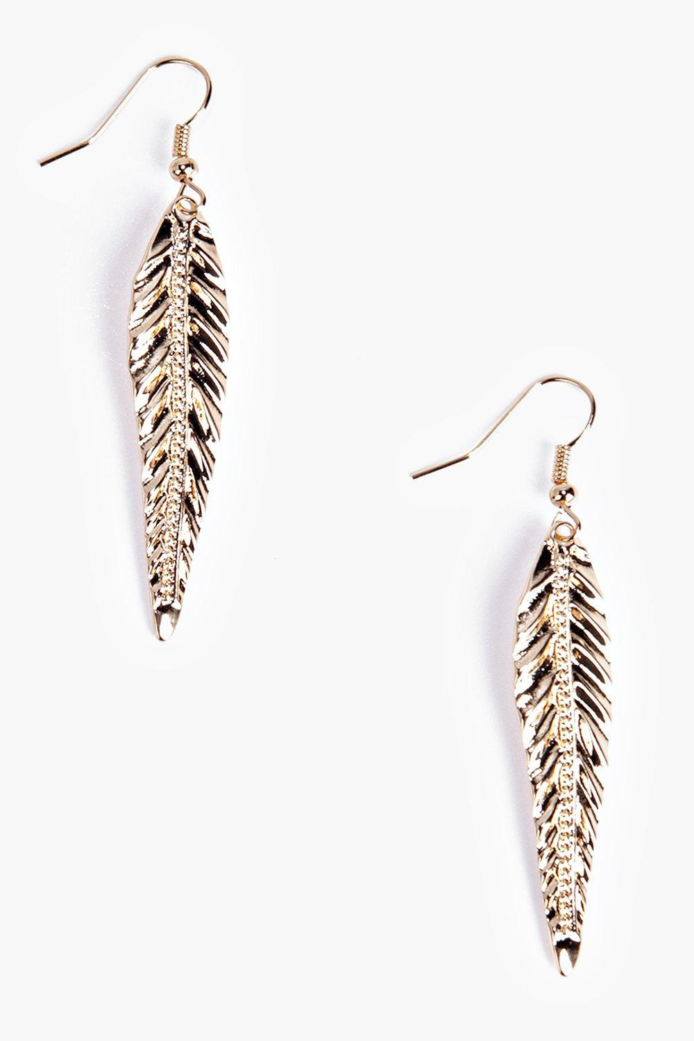 Sadie Leaf Earrings