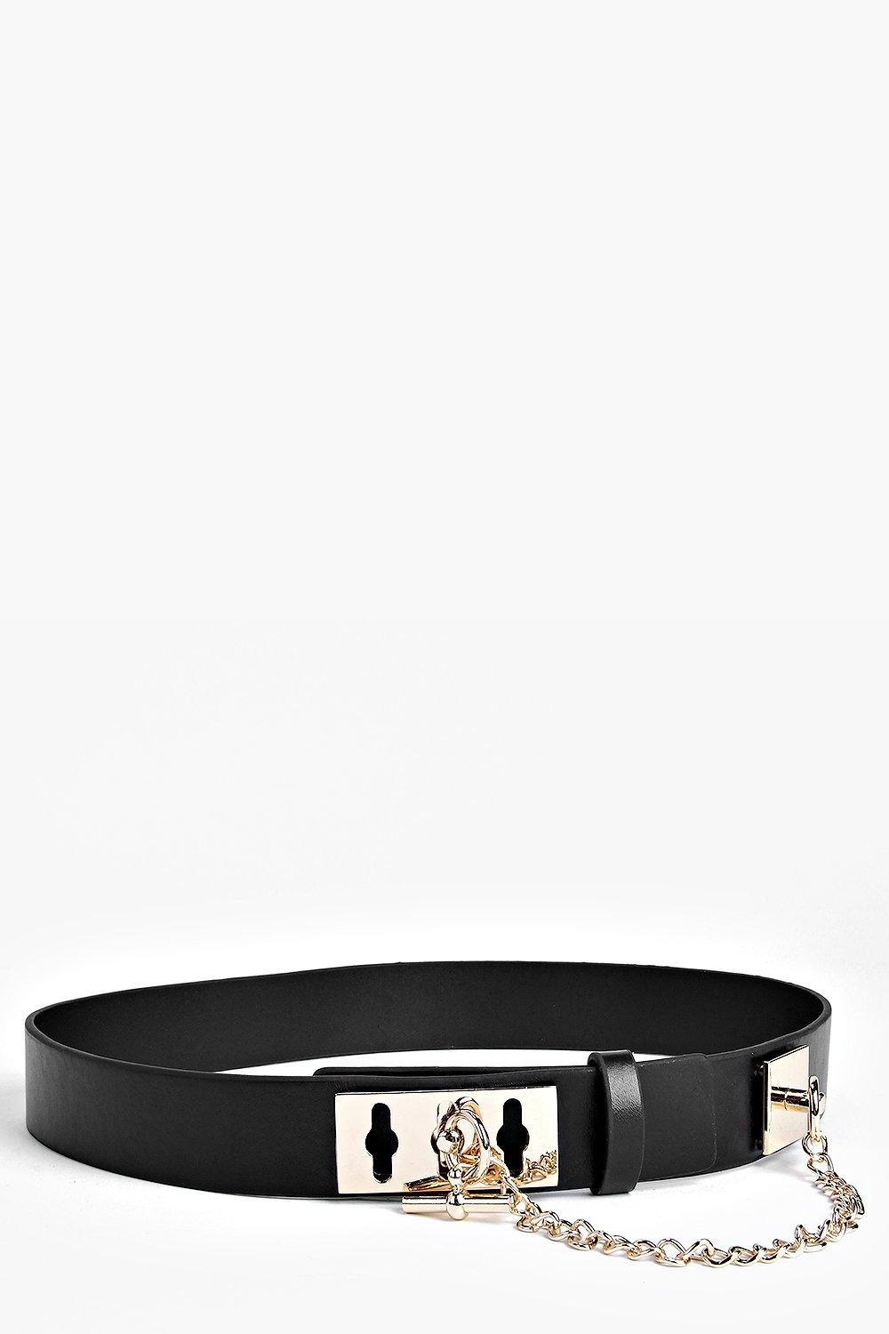 Layla Lock Detail Waist Belt