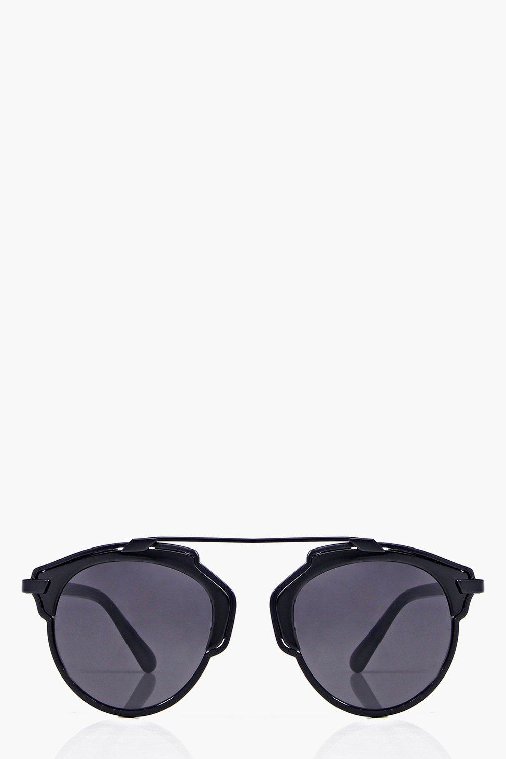Jasmine Metal Bar Retro Sunglasses