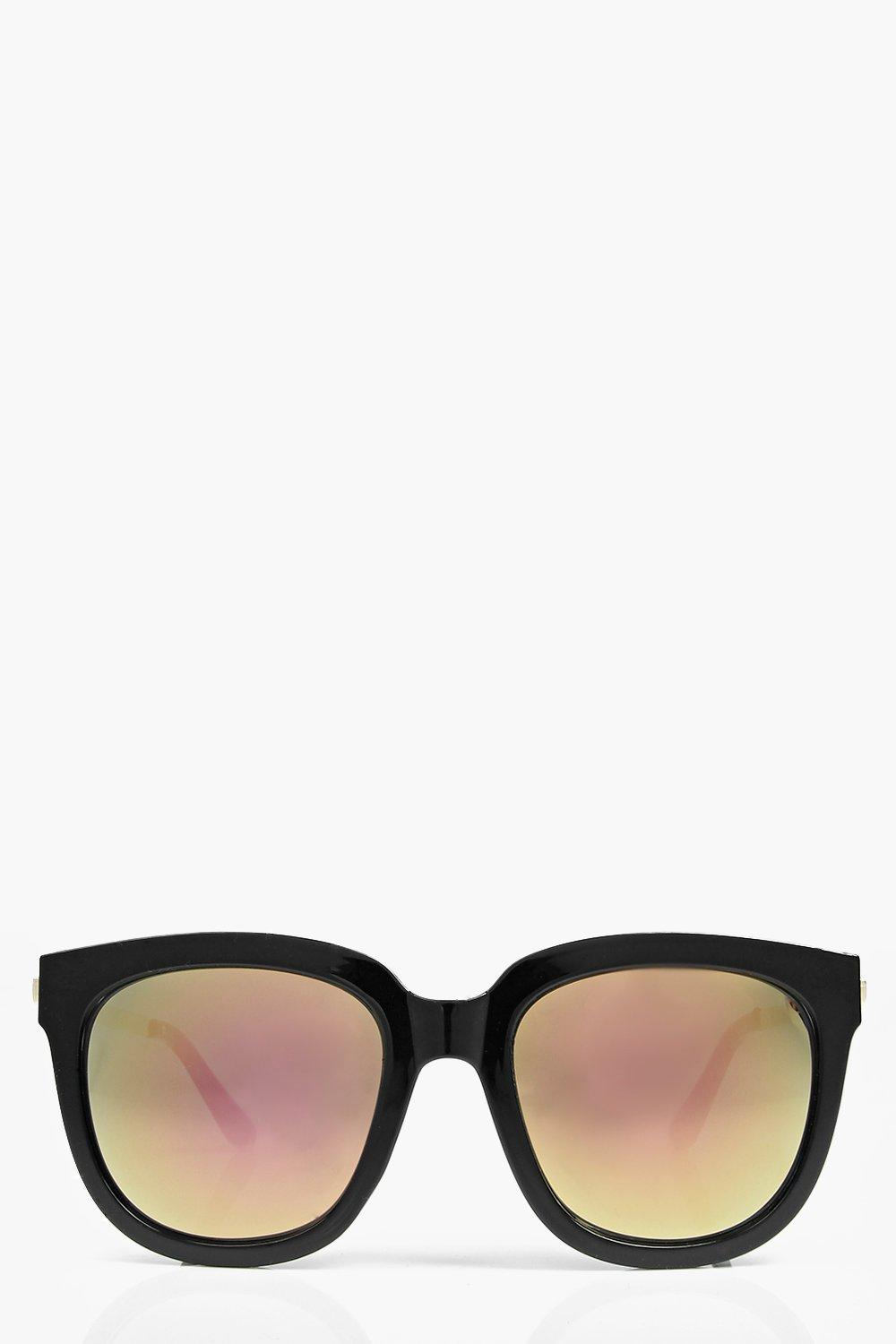 Tilly Mirrored Wayfarer Sunglasses