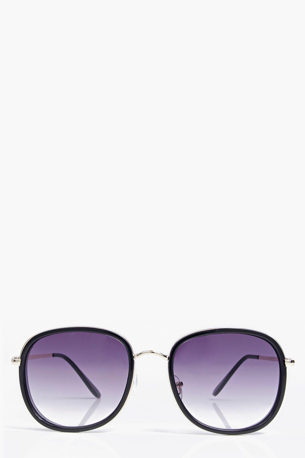 Kayla Oversized Round Sunglasses
