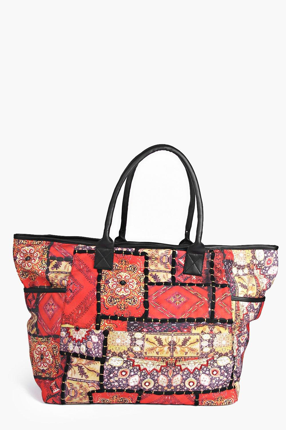 Holly Digital Print Shopper Bag