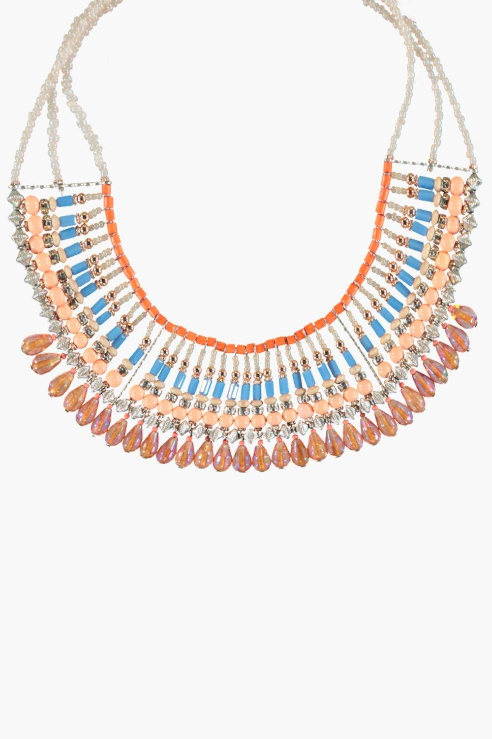 Serena Beaded Statement Necklace
