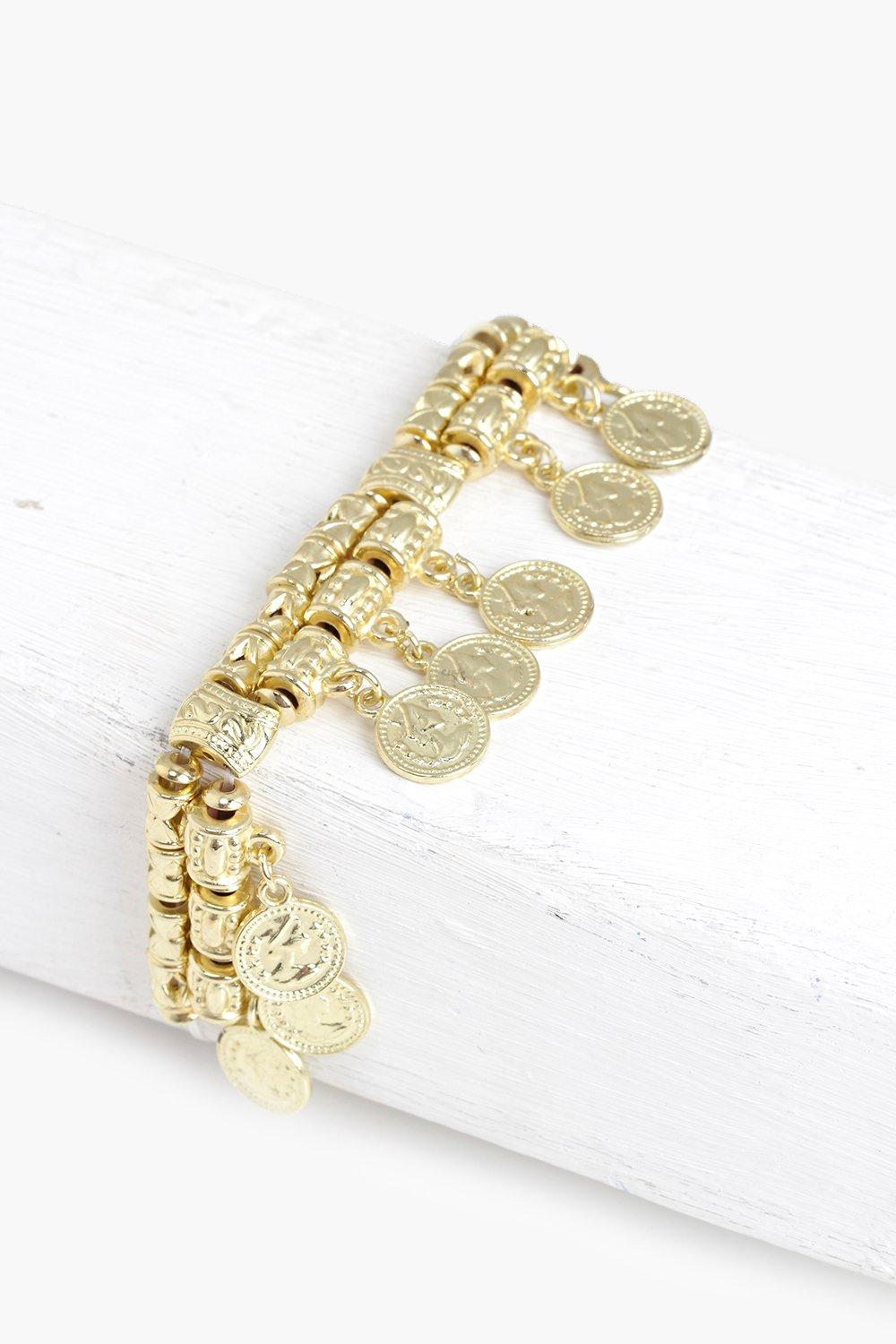 Esther Multi Coin Bracelet