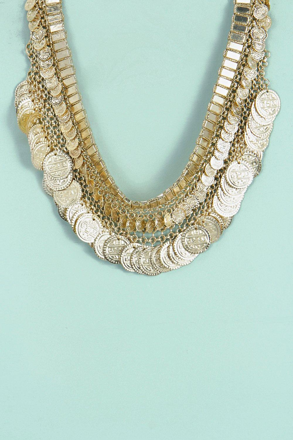 Imogen Layered Coin Necklace