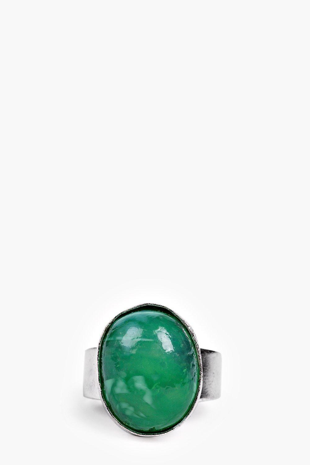 Ava Statement Stone Adjustable Ring