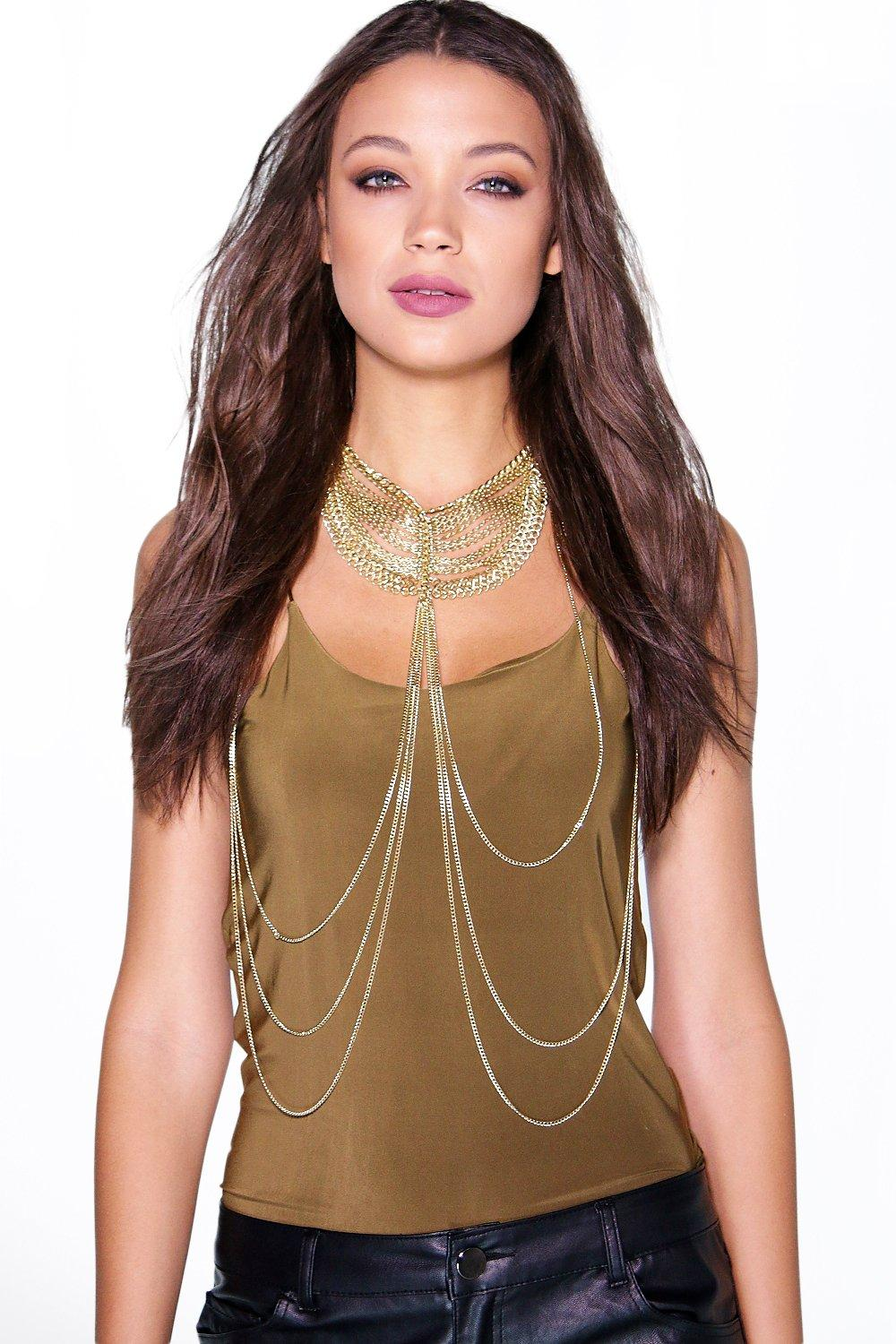 Boutique Rachel High Neck Body Chain