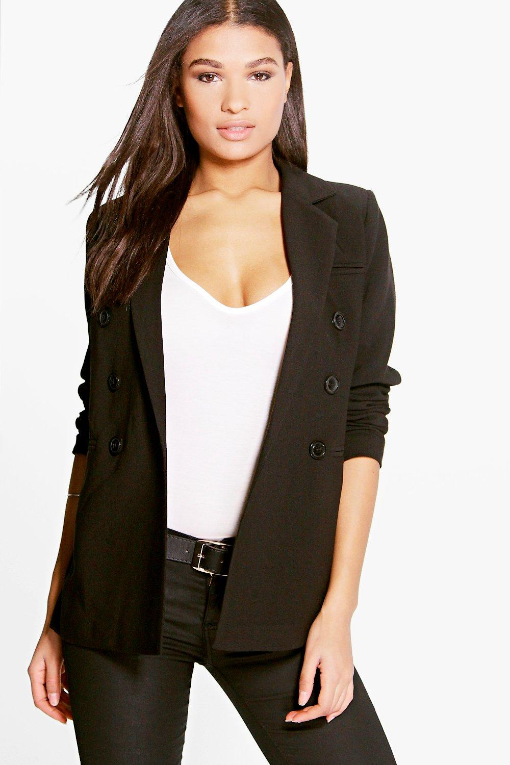 Boutique Jasmine Double Breasted Blazer