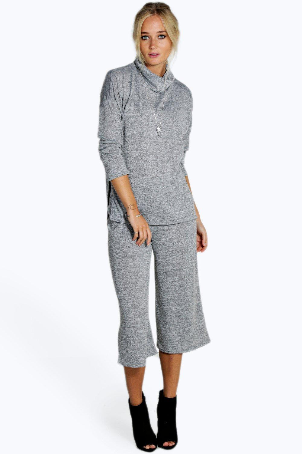 Emily Brushed Tunic & Culottes Knitted Co-ord