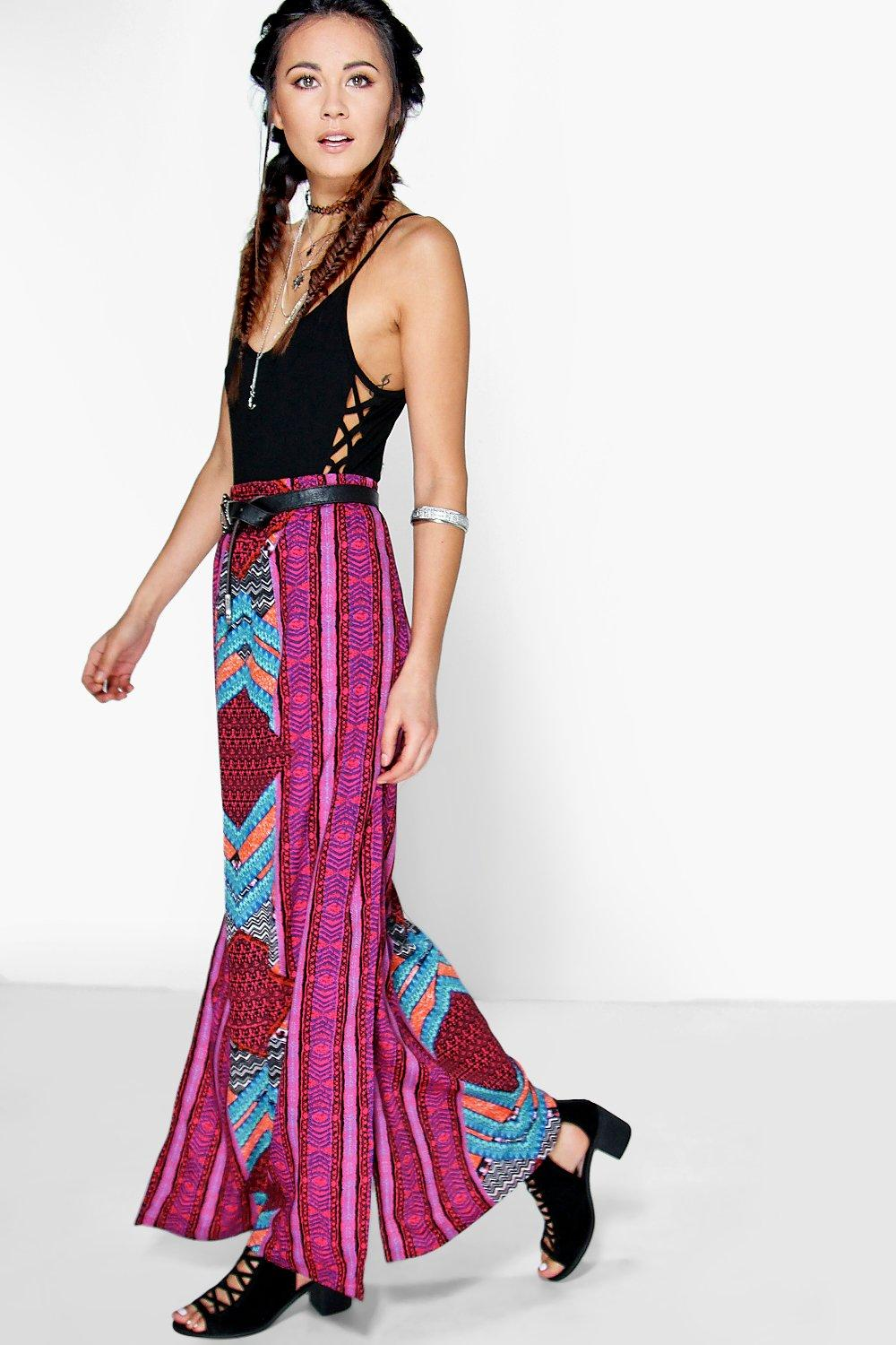 Arianne Placement Print Maxi Skirt