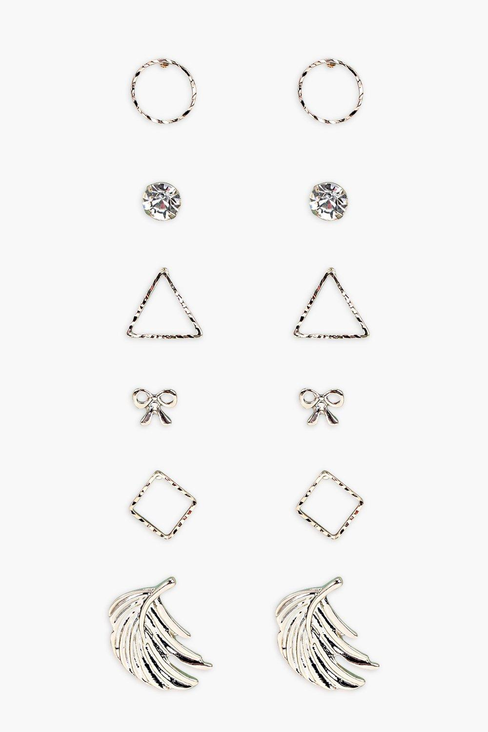 Vanessa Mixed Shapes Earring Pack