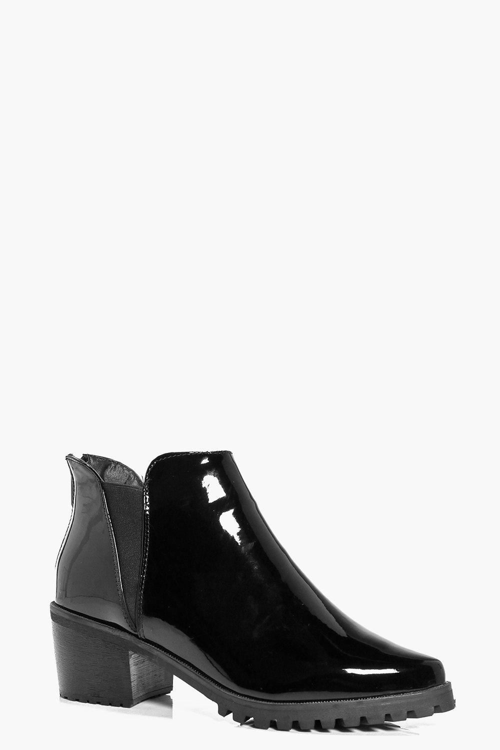 Anna Patent Pointed Chelsea Boot