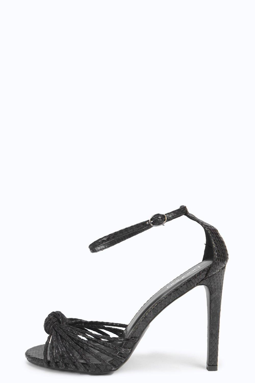 Emily Knot Front Caged Stiletto