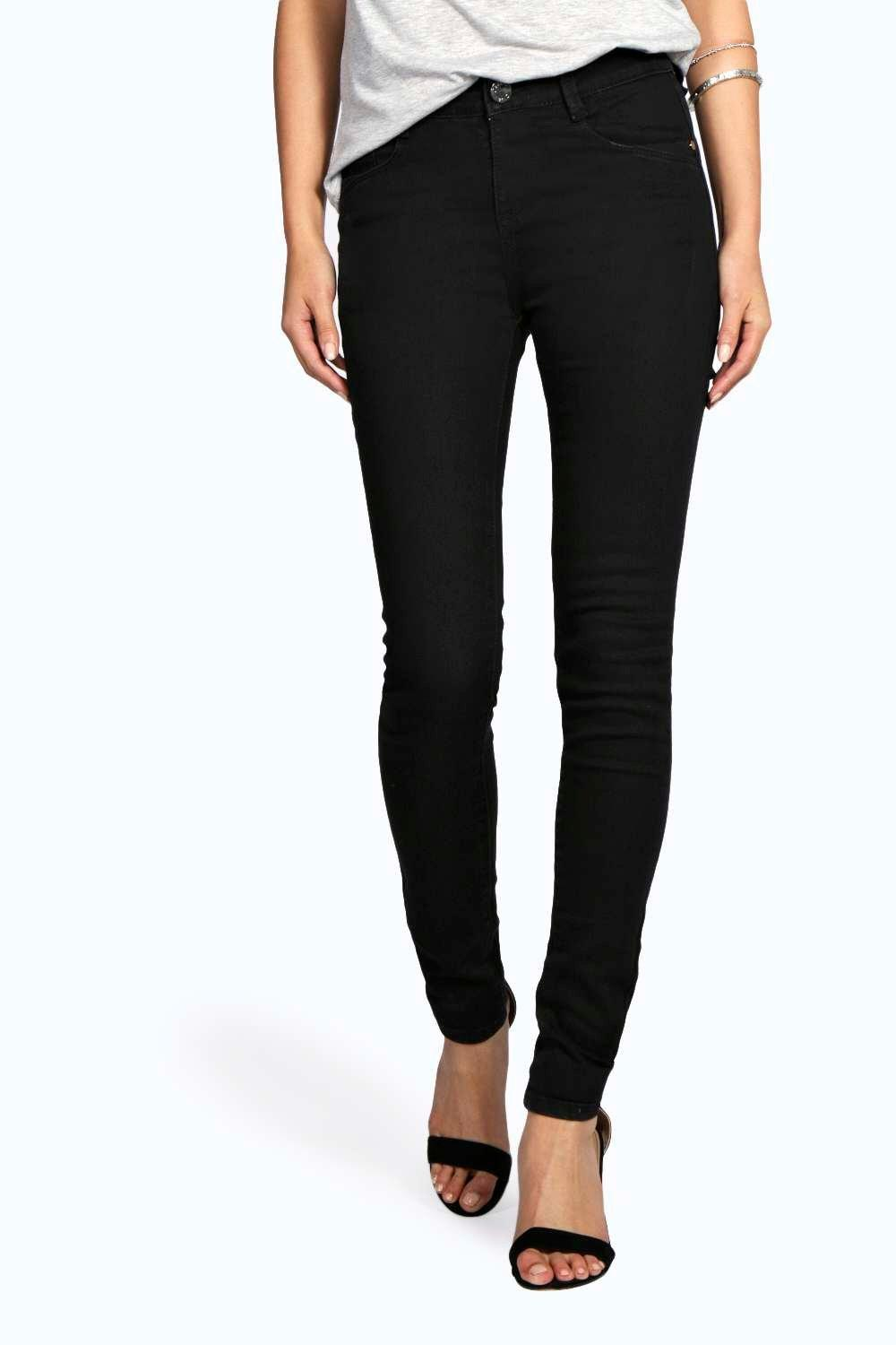Jinnie High Waisted 5 Pocket Skinny Jeans