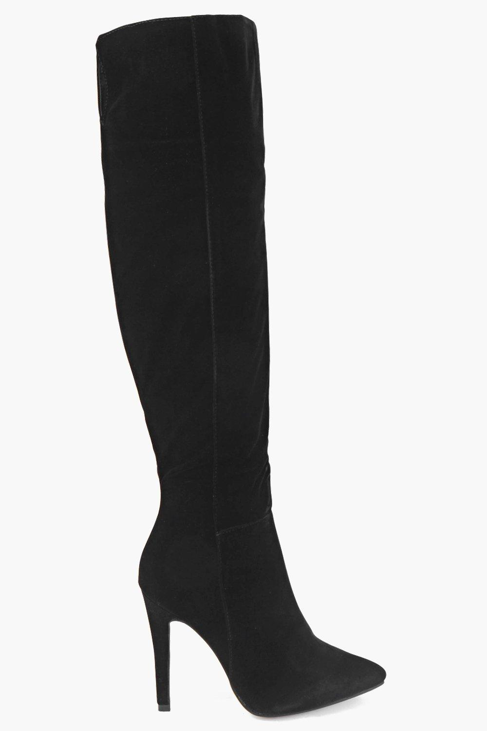 Victoria Over The Knee Point Boot