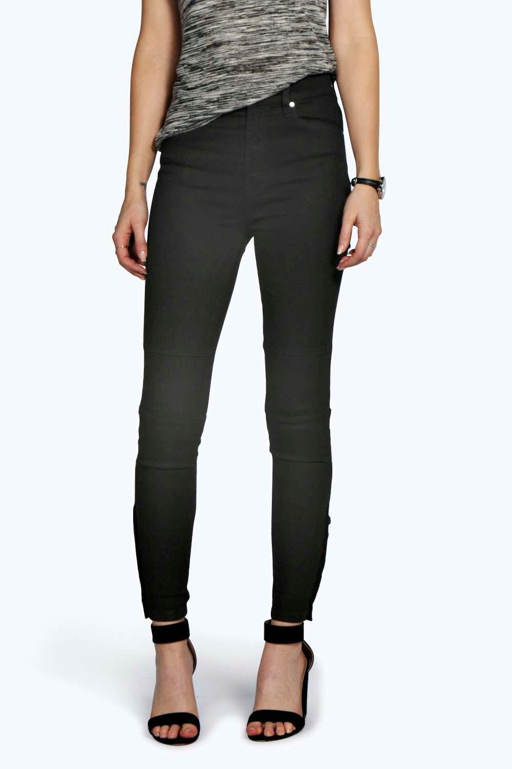 Betty Button Detail Skinny Jeans