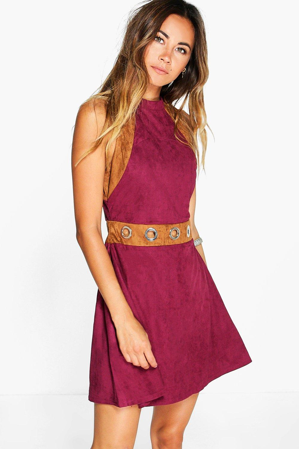 Boutique Carmen Eyelet A-Line Shift Dress