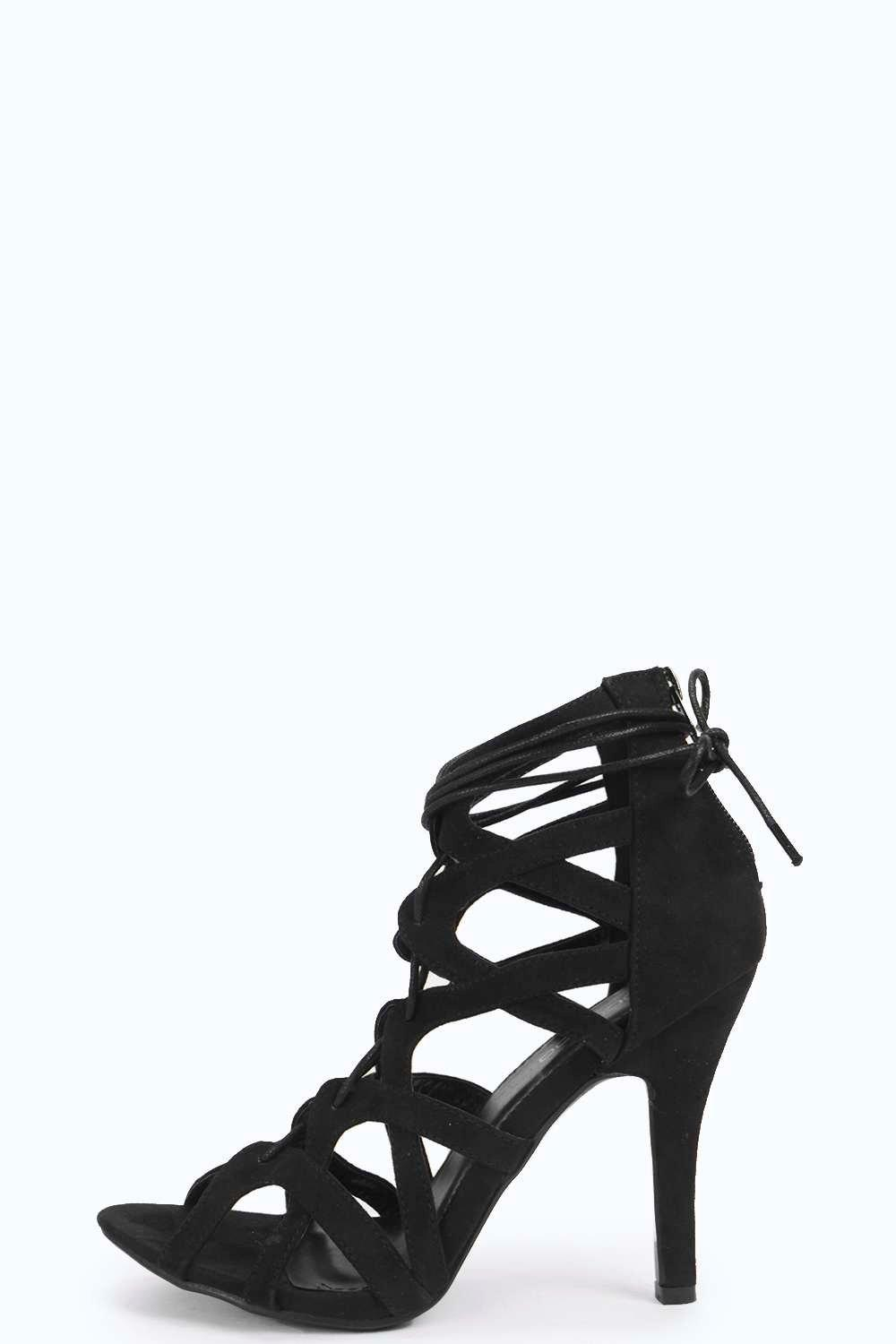 Victoria Cage Ghillie Lace Up Heel