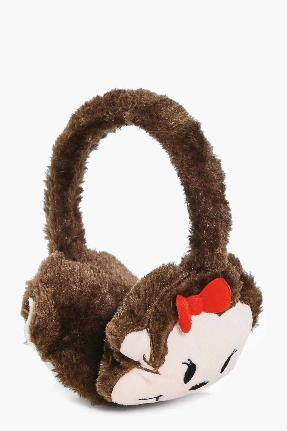 Girls Animal Ear Muff